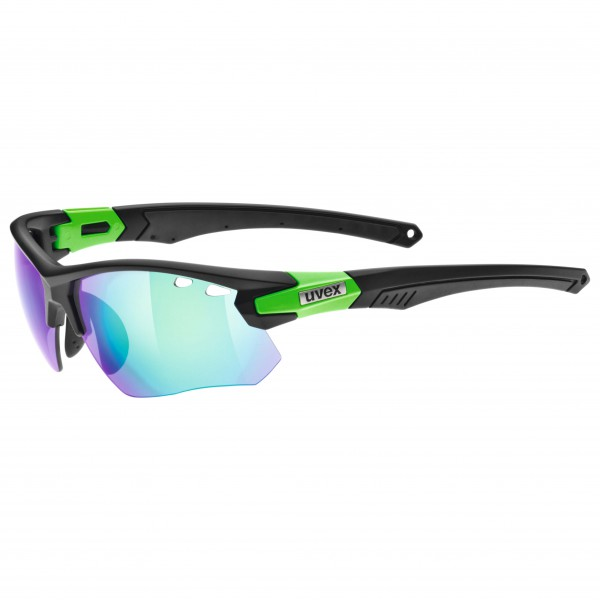 Uvex - Sportstyle 109 Clear+LM Orange+Mirror Green S0+1+3