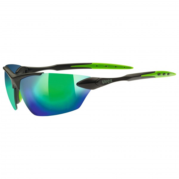 Uvex - Sportstyle 203 Mirror Green S3 - Lunettes de cyclisme