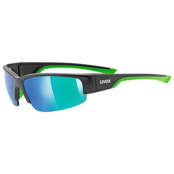 Uvex - Sportstyle 215 Mirror Green S3 - Lunettes de soleil