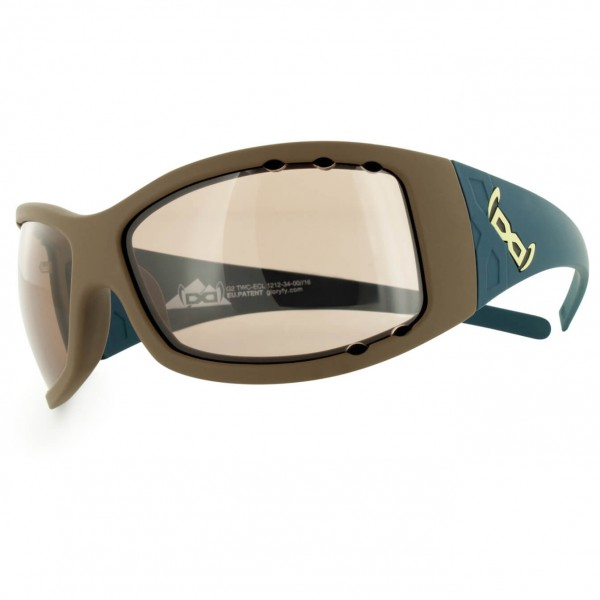 Gloryfy - G2 Transformer Brown Air F2-F4 - Sunglasses