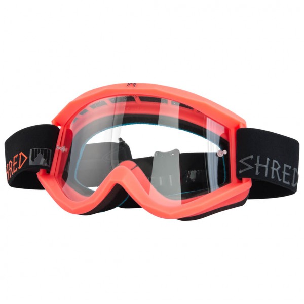 SHRED - Soaza Dirt Popsicle Clear Cat:S0 - Bike-Goggles