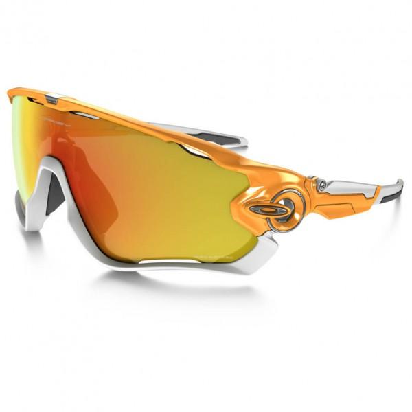Oakley - Jawbreaker Fire Iridium Polar - Sonnenbrille