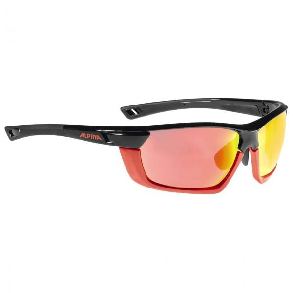 Alpina - Tri-Scray MF ClearS0+Orange MirrorS2+Red MirrorS3 - Aurinkolasit