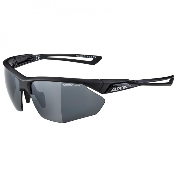 Alpina - Nylos HR Ceramic Mirror S3 - Cycling glasses