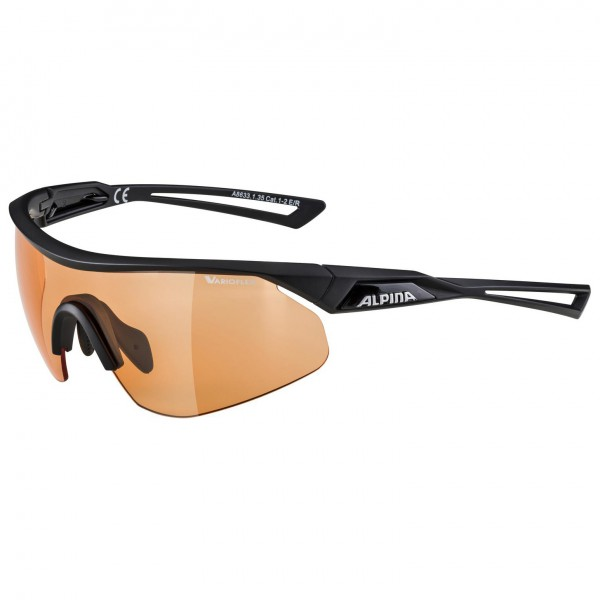 Alpina Nylos Shield Varioflex S1-2 - Cykelbriller | Glasses