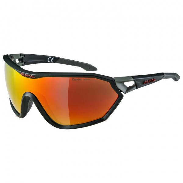 Alpina - S-Way L CM+ Ceramic Mirror S3 - Sunglasses