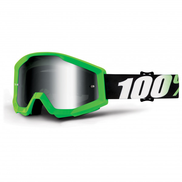 100% - Strata Goggle Anti Fog Mirror S2 (VLT 25%) - Cykelglasögon