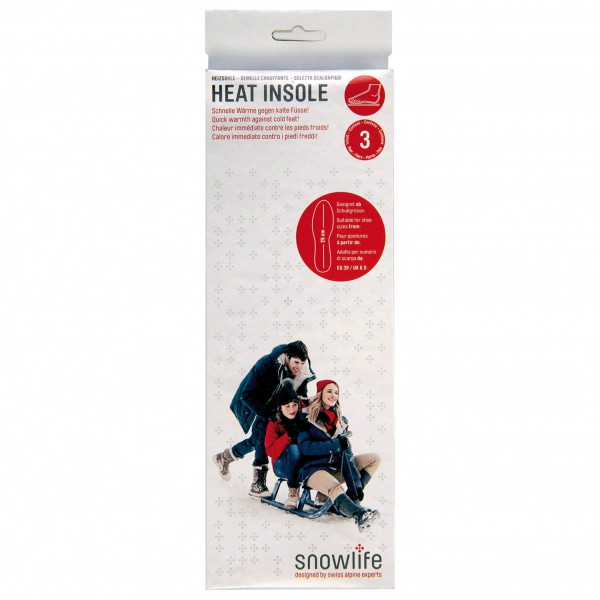 Snowlife - Heat Insole - Verwarmingszool