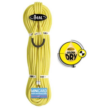 Beal - Joker 9,1 mm Golden Dry - Corde à simple