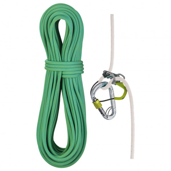 Edelrid - Eagle Light 9.5 mm + Mega Jul Belay Kit