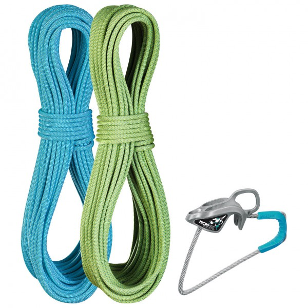 Edelrid - Flycatcher 6,9 mm + MicroJul - Twin rope