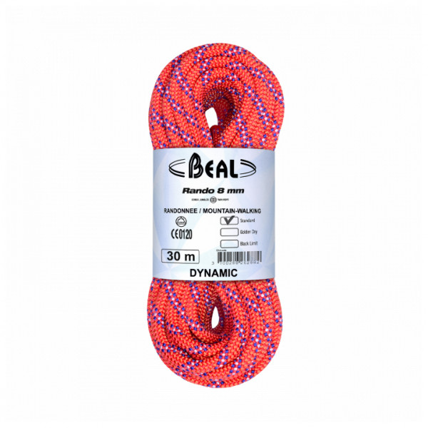 Beal - Rando 8 mm - Tvillingtau