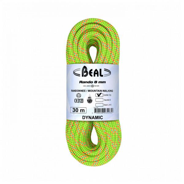 Beal - Rando Golden Dry 8 mm - Tweelingtouw