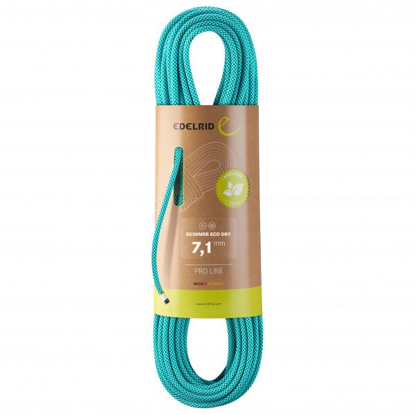 Edelrid - Skimmer Eco Dry 7,1 - Halvreb