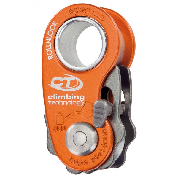 Climbing Technology - Roll'n'Lock - Haspel voor touw