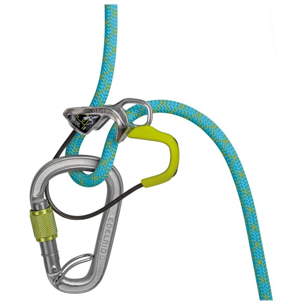 Edelrid - Megajul Belay Kit Steel - Assureur