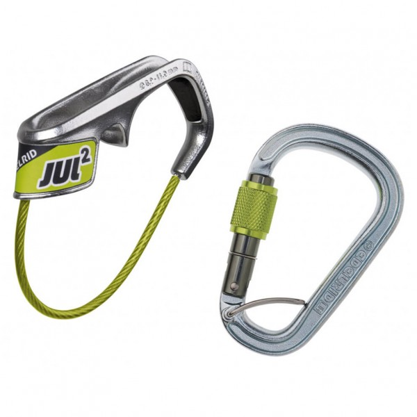 Edelrid - Jul 2 Belay Kit Steel - Zekeringsapparaat