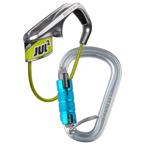 Edelrid - Jul 2 Belay Kit Steel Triple - Belay device