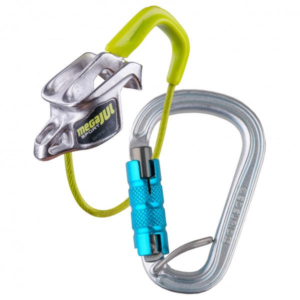 Edelrid - Mega Jul Sport Belay Kit Steel Triple - Säkringsanordning