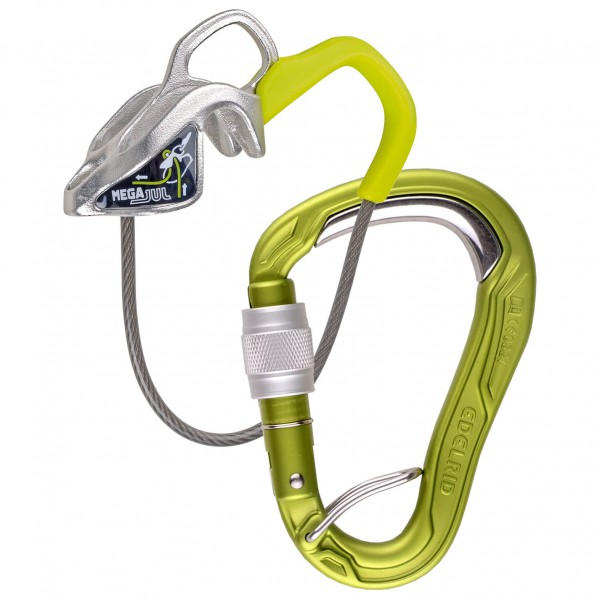 Edelrid - Mega Jul Belay Kit Bulletproof Screw - Belay device