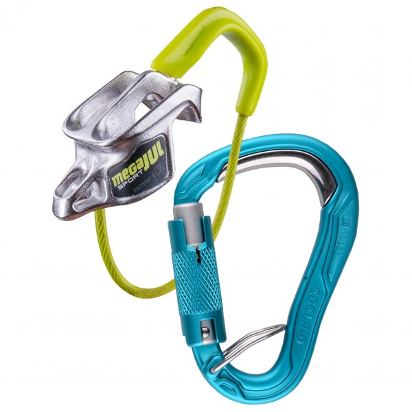 Edelrid - Mega Jul Sport Belay Kit Bulletproof Triple - Belay device