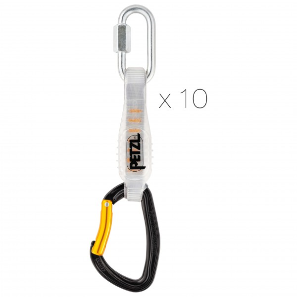 Petzl - 10 Djinn Steel Axess - Express-Set