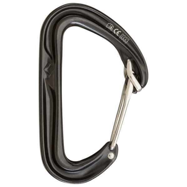 Black Diamond - HoodWire - Schnappkarabiner (Wire)