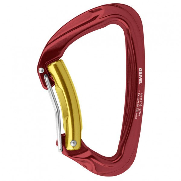 Grivel - Sigma Twin Gate - Locking carabiner