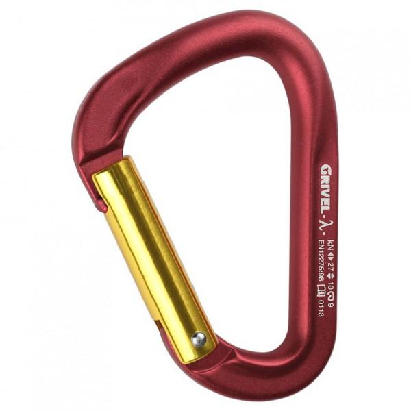 Grivel - Lambda Keylock - Snapgate carabiners