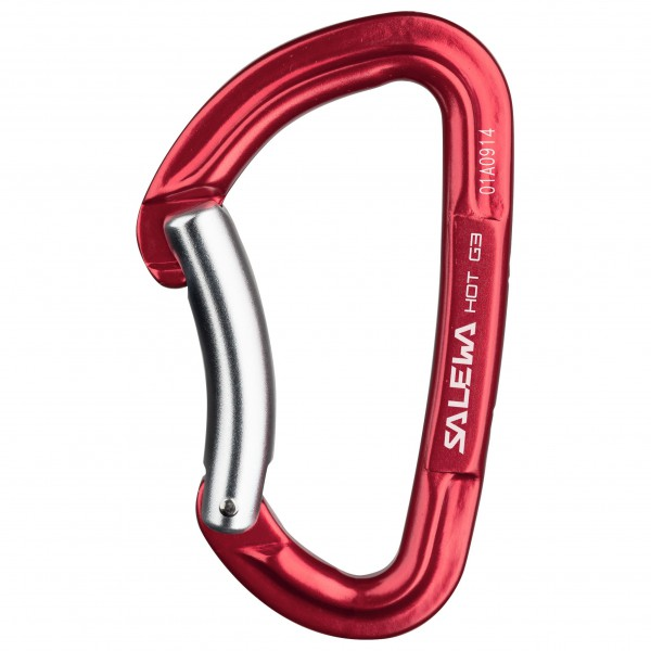 Salewa - Hot G3 Bent Carabiner - Non-locking carabiner