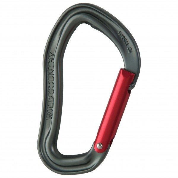 Wild Country - Electron Straight Gate - Snapgate carabiner