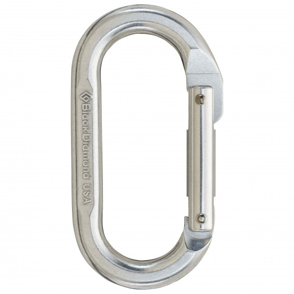 Black Diamond - Oval - Non-locking carabiner