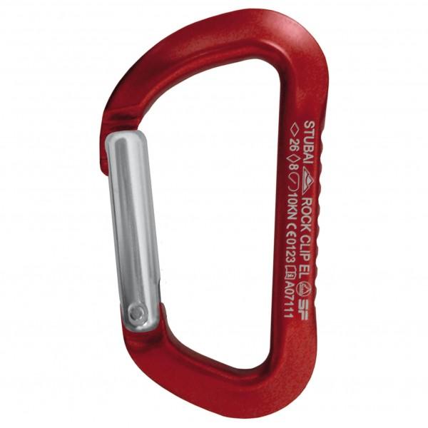 Stubai - Rock Clip Easy Lock - Karbiner snäpplås