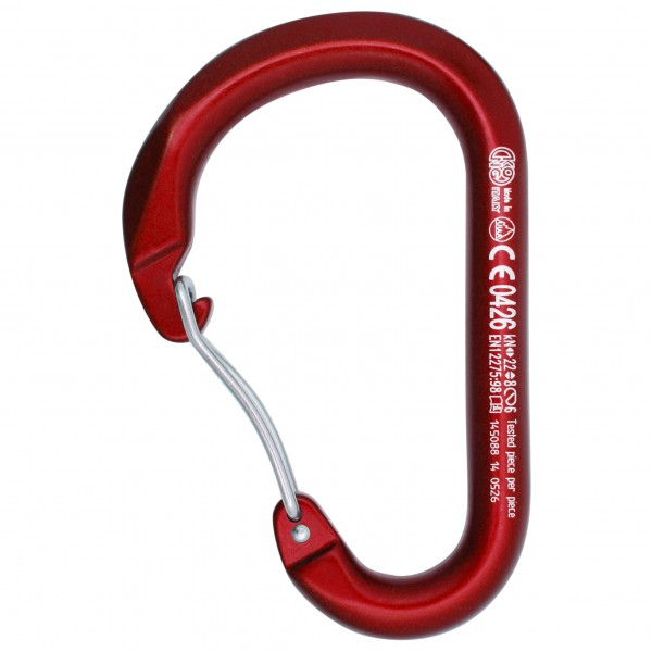Kong - Paddle Wire Bent Gate - Schnappkarabiner