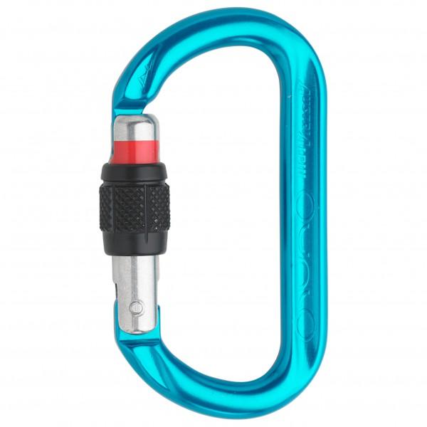 Austrialpin - Ovalo Alu Schrauber - Locking carabiner