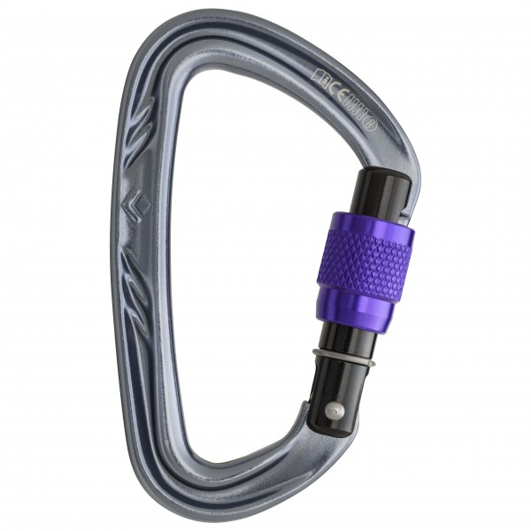 Black Diamond - Nitron Screwgate - Locking carabiner
