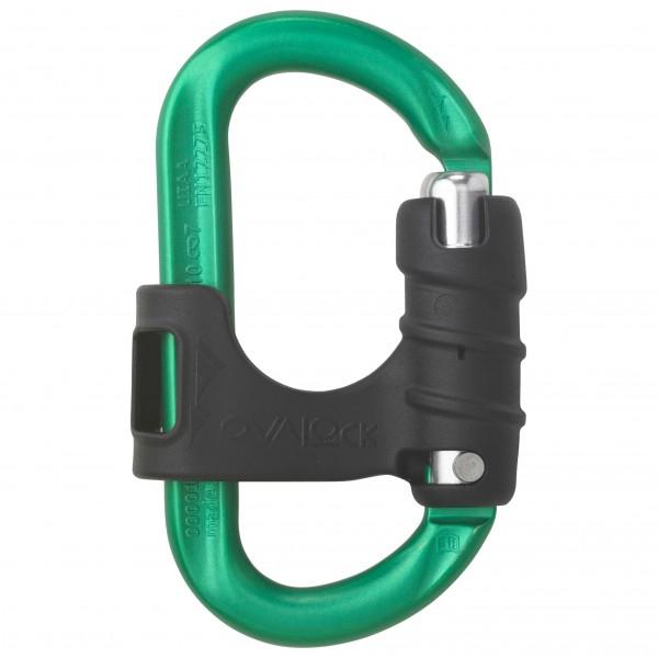 AustriAlpin - Ovalock Alu Klappverschluss - Schraubkarabiner