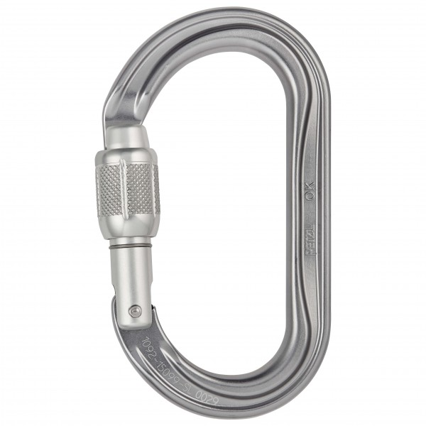 Petzl - OK Screw-Lock - Låsekarabiner