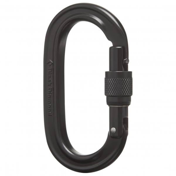 Black Diamond - Oval Locker Carabiner - Mousqueton à vis