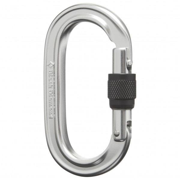 Black Diamond - Oval Locker Carabiner - Screwgate carabiner