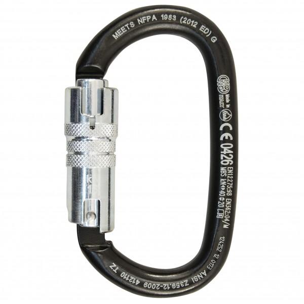 Kong - Ovalone Carbon Ansi Twistlock - Screwgate carabiner