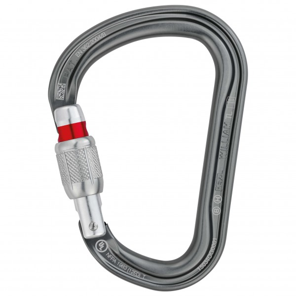 Petzl - William Screw-Lock - Mousqueton HMS
