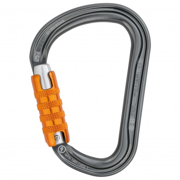 Petzl - William Triact-Lock - HMS-Karabiner