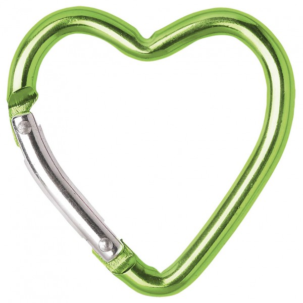 Salewa - Pocket Carabiner Heart Small - Tarvikesulkurengas