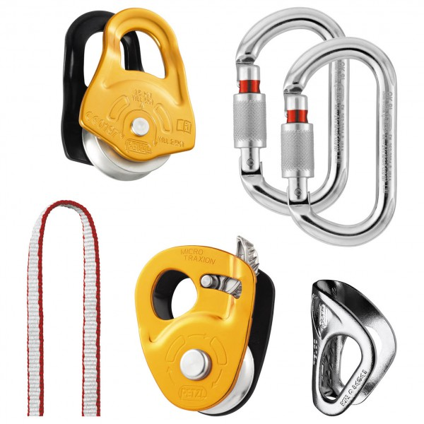Petzl - Crevasse Rescue Kit - Steigklemme