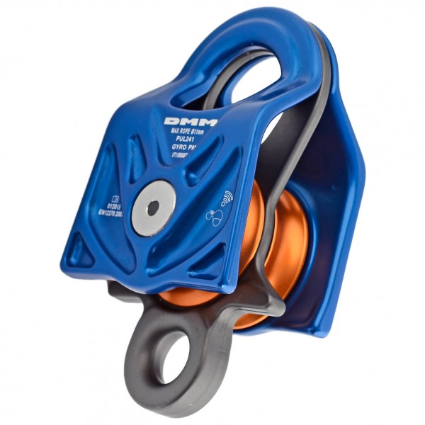 DMM - Gyro Twin Pulley - Rope pulley