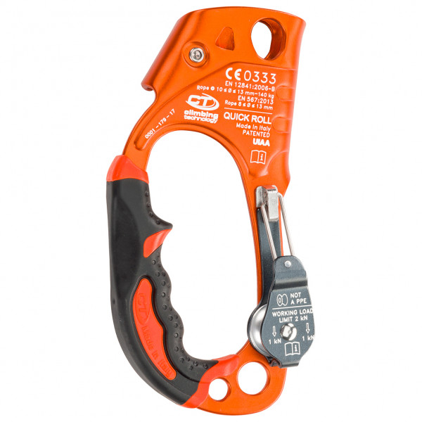 Climbing Technology - Quick Roll Ascender + Pulley - Bloqueador