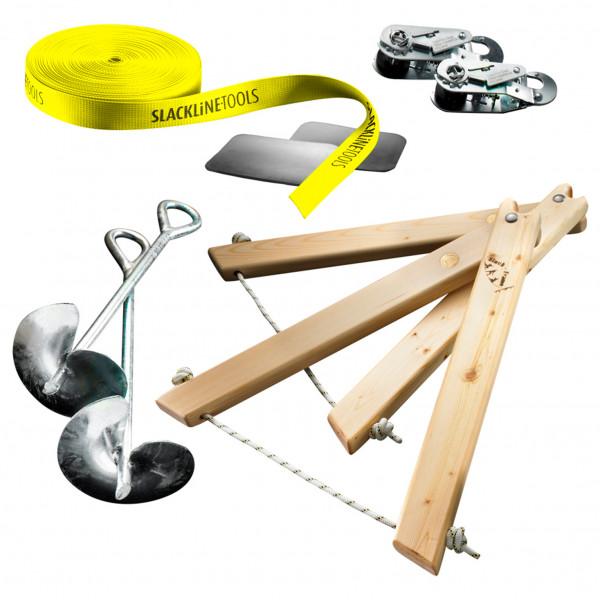 Slackline-Tools - Frameline Set - Slackline-set