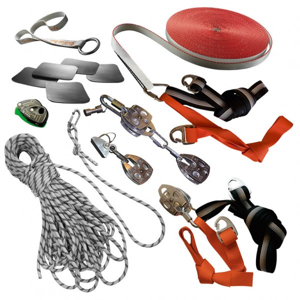 Slackline-Tools - Strong 'n Long Set 100 - Slackline-set