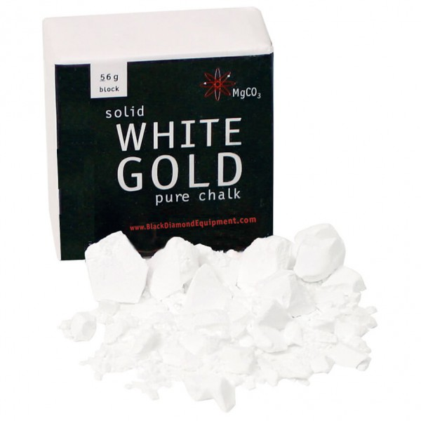 Black Diamond - Uncut White Gold - Magnesiumblok